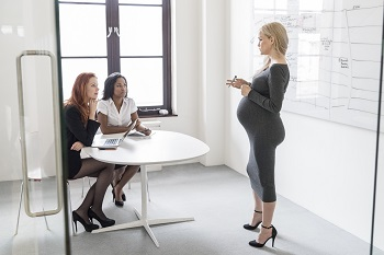 Female Workers In Business Meeting