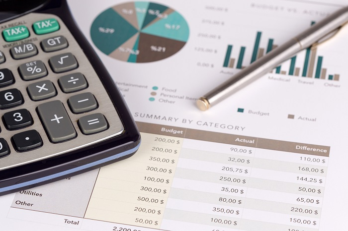 Business Finances and Calculator